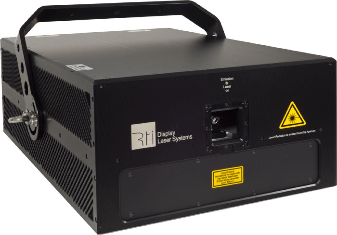 RTI NANO Serie Die RTI NANO Serie besteht aus High-End-Showlasersystemen 'Made in Germany', gefertigt durch den deutschen Hersteller Ray Technologies (RTI), einem Laserworld Unternehmen. Die RTI NANO Showlasersysteme bieten, je nach Model, mit bis zu 47W RGB extreme Leistung – und das garantiert nach Optik! Alle Geräte besitzen Dioden und / oder OPSL-Module für strahlende Farben und ein hervorragendes Dimmverhalten. Laserstrahlen und Strahlform sind präzise und hochgenau, was RTI NANO Showlaser für professionelle Anwendungen ideal macht - sowohl für Anwendungen im Innern wie auch im Freien. Jeder Projektor besitzt schnelle Scanner für gleichmäßige Projektionen. Die RTI NANOs können über ILDA angesteuert werden und sind mit einer neu entwickelten Elektronik mit Ansteuerungsmöglichkeit über ein Browser-Interface ausgestattet.