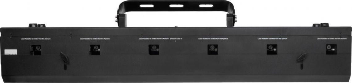 RTI NEO SIX Das weltweit erste RGB Weißlicht-Beam-Array mit analoger Modulation und echten Scannern. Damit können völlig neue Effekte erzeugt werden die bisher nicht möglich waren: Durch Welleneffekte mit parallelen Laserstrahlen, dreidimensionale Verdrehungen der Strahlen im Raum und beeindruckende Farbverläufe wird der RTI NEO SIX zu einem spektakulär neuartigen Lichteffekt für professionelle Bühnenproduktionen.