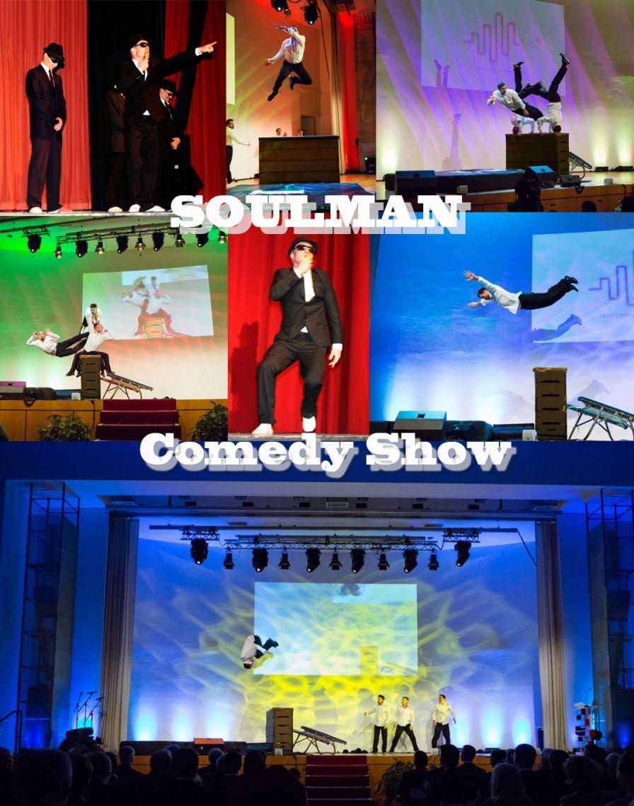 Team Supreme's  - Soulman - Trampolin Comedy Akrobatik -