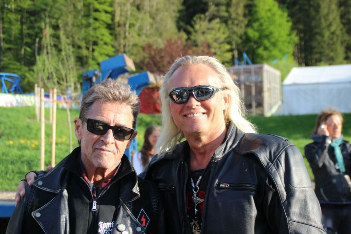 Robert Geiss Double mit Peter Maffay