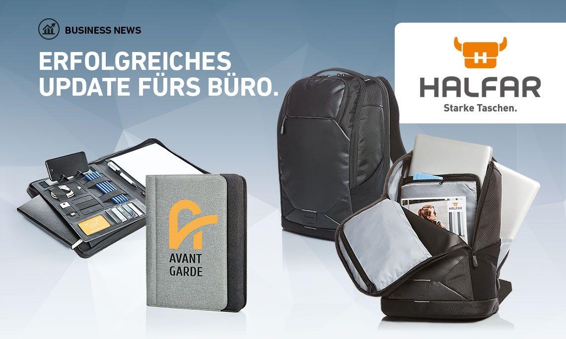 Business News von HALFAR® - Erfolgreiches Update fürs Büro.