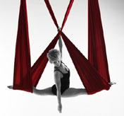 Elisabeth Schmidt, die Akrobatin der L�fte