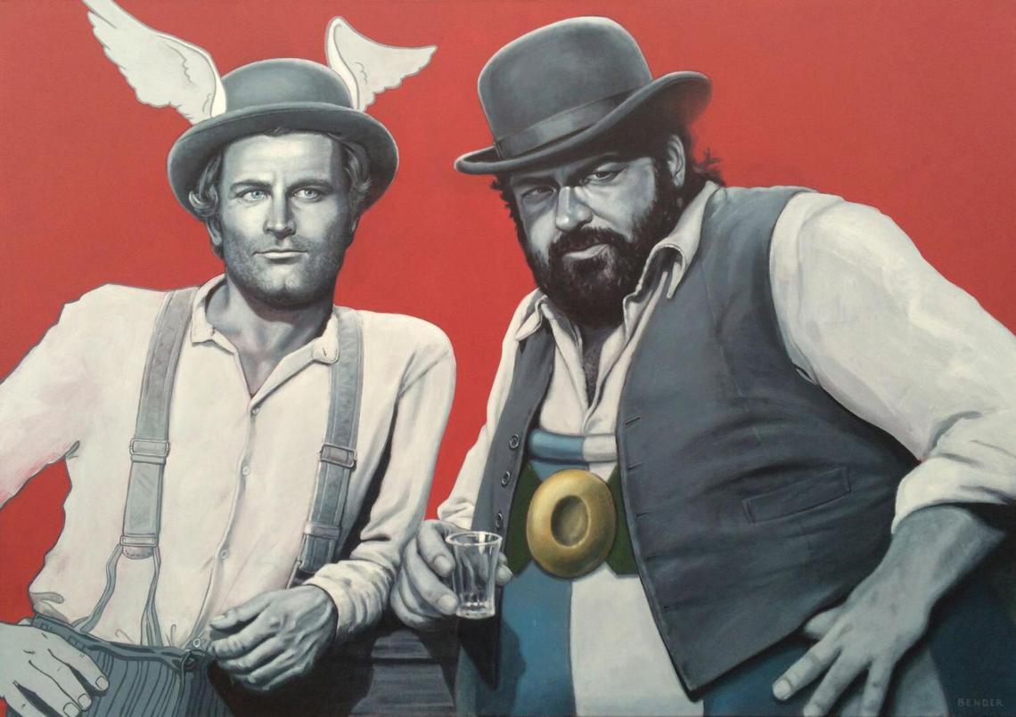 Acrylgemälde auf Leinwand. 100 x 140cm