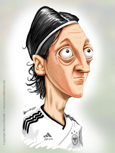 Karikatur von Mesut Özil Seit mehr als einem Jahrzehnt bin ich als Karikaturist und Promoter für viele nationale und internationale Unternehmen tätig.
