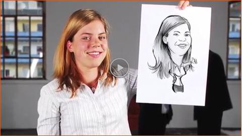 Video: Schnellzeichner Marcel Bender