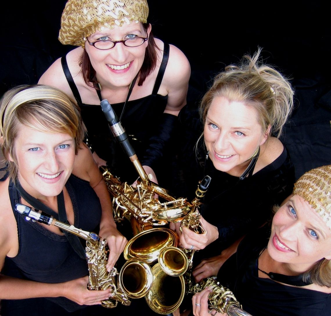 Vier Frauen, vier Saxophone - ein Sound!
