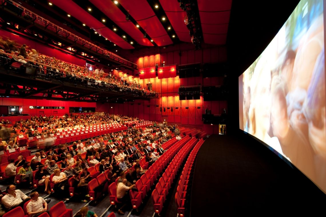 Theatersaal Filmpremiere