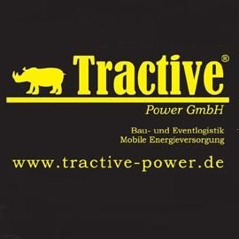 Tractive Power GmbH / Bau- und Eventlogistik / Mobile Energieversorgung