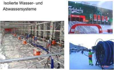 Skiweltmeisterschaft (Schweden) Skiweltmeisterschaft (Schweden): Isolierte Wasser- und Abwassersysteme