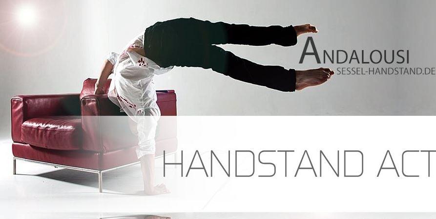 Andalousi Handstand Act