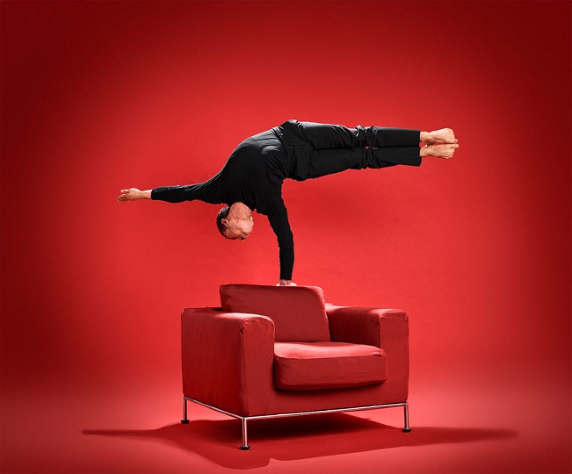 Foto: Stephan Röcken  Andalousi Elakel zeigt beeindruckende Körperbeherrschung.