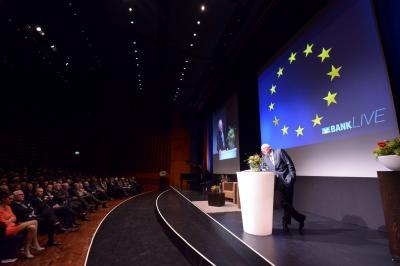 Bühnenvariante Showtreppe (Foto: VR-Bank Westmünsterland eG)