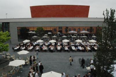 Catering auf dem Theaterplatz