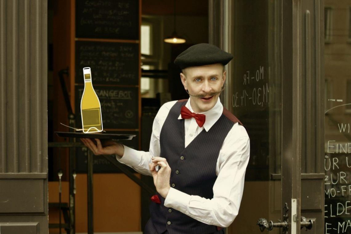 Francois Martin der etwas andere, charmante Kellner