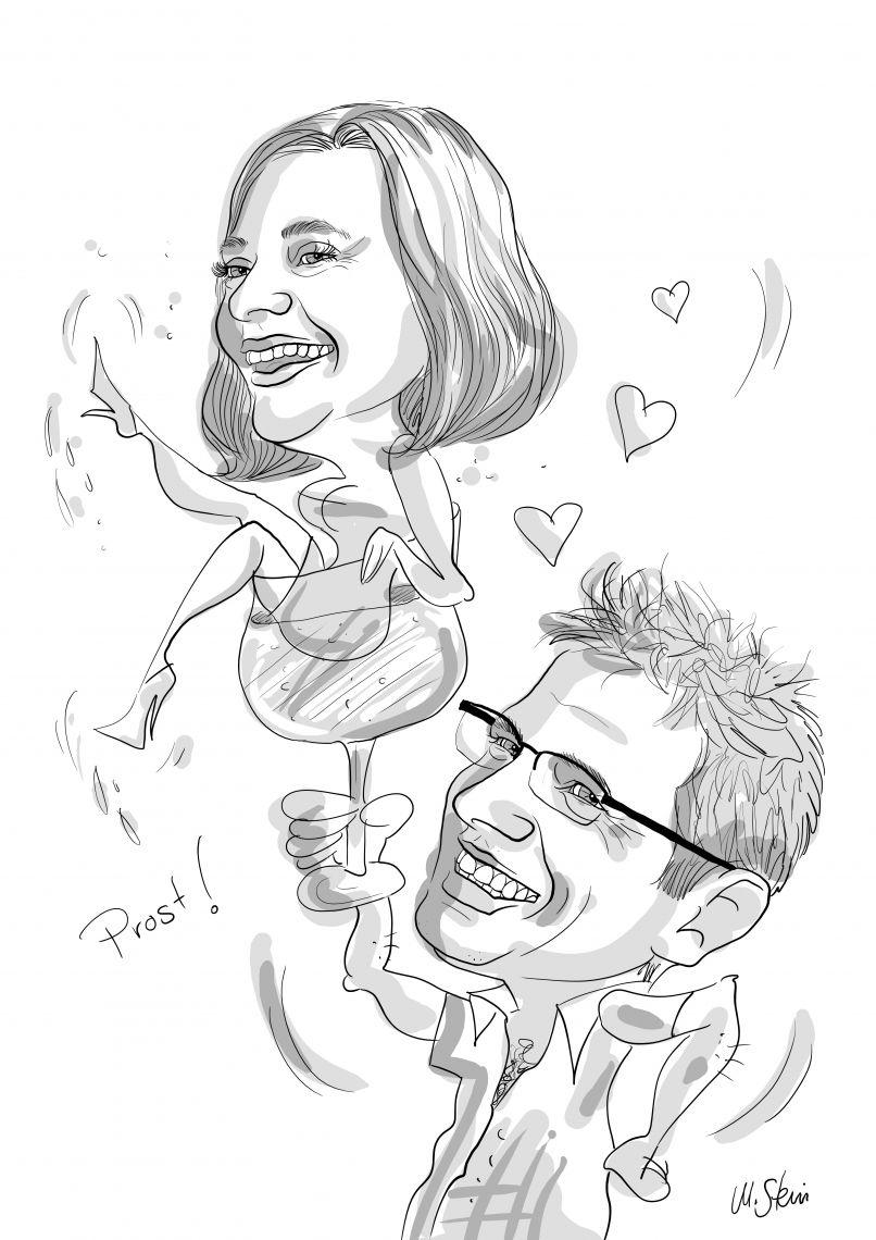 Karikaturistin/Schnellzeichnerin