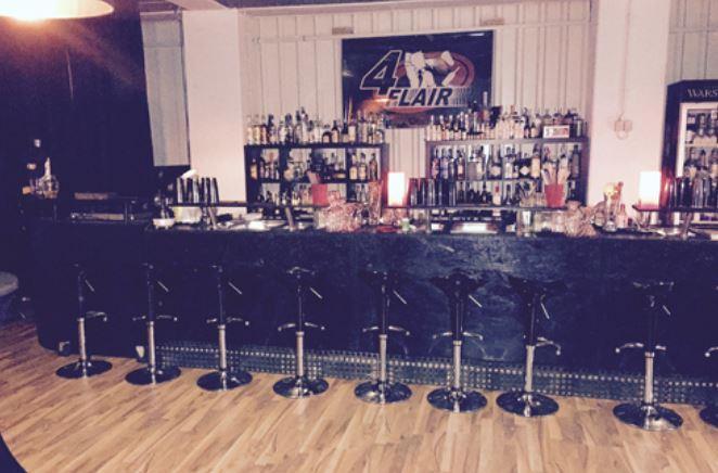 Veranstaltungscolation mit 7m Barbereich