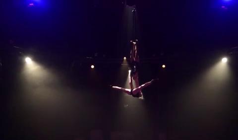 Video: Duo Same Same Full Act Aerial Silk