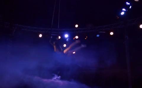 Trapeze Showperformer Nadja Hawranek Full Act
