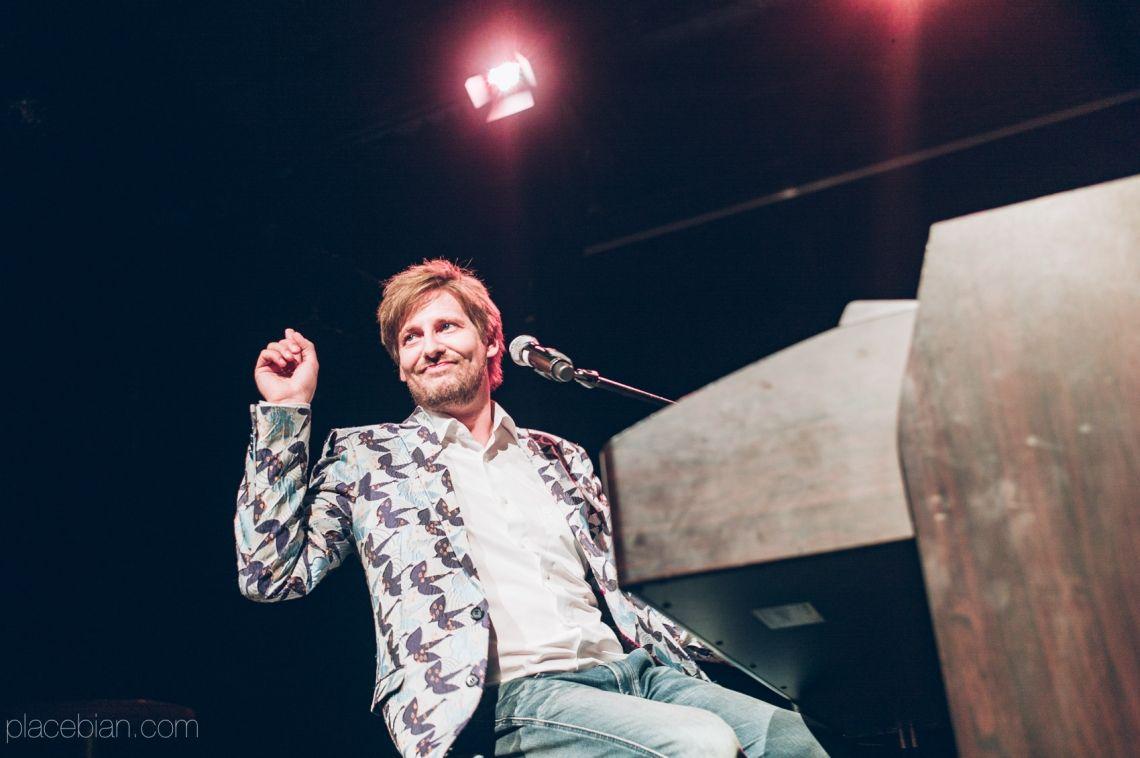Daniel Helfrich im Showprogramm