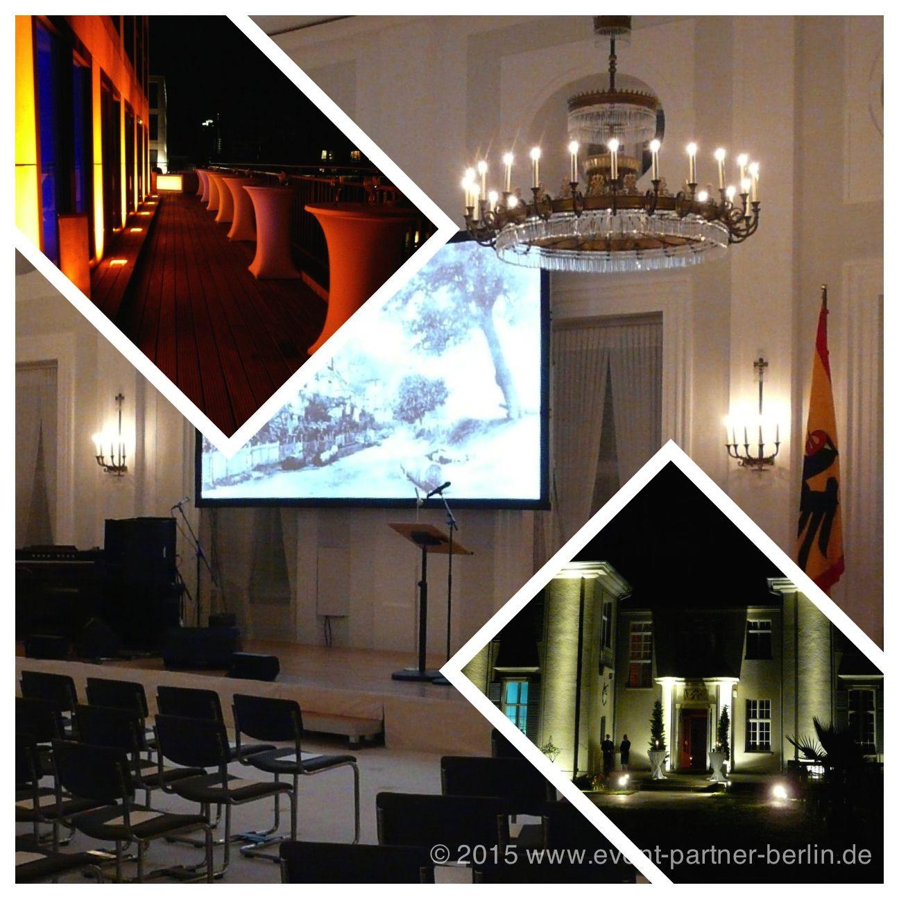 www.event-led.de Berlin Veranstaltungen sind unsere Passion - von Architekturbeleuchtung über Veranstaltungen im Schloss Bellevue bis hin zu elten ehrwürdigen Villen am Wannsee.