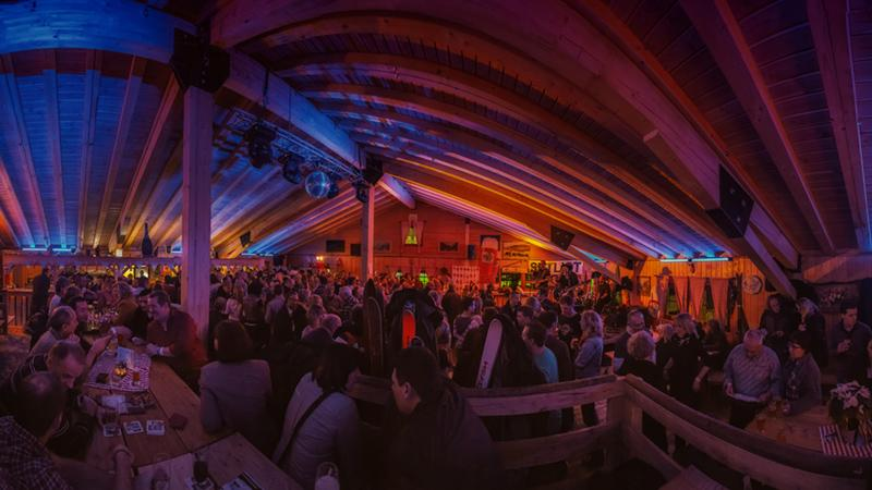 Events in der Almhütte