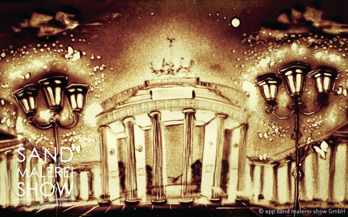 sand malerei show - Das Original - Die Geschichte einer Stadt... in Sand gemalt Highlight Ihrer Veranstaltung, Individuelle Shows oder Videos, Auftritte in Deutschland & Europa, Top Preis-Leistung, Bekannt aus TV, Deutsche Firma, Top Service & Qualität, Über 500 Veranstaltungen pro Jahr, Das Original, Emotionen pur, Über 1400 Referenzen, Wir verzaubern ihr Event mit Sand Malerei...