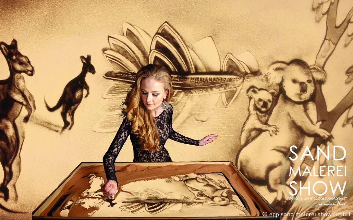 sand malerei show - Das Original - Fantasy World... in Sand gemalt Highlight Ihrer Veranstaltung, Individuelle Shows oder Videos, Auftritte in Deutschland & Europa, Top Preis-Leistung, Bekannt aus TV, Deutsche Firma, Top Service & Qualität, Über 500 Veranstaltungen pro Jahr, Das Original, Emotionen pur, Über 1400 Referenzen, Wir verzaubern ihr Event mit Sand Malerei...