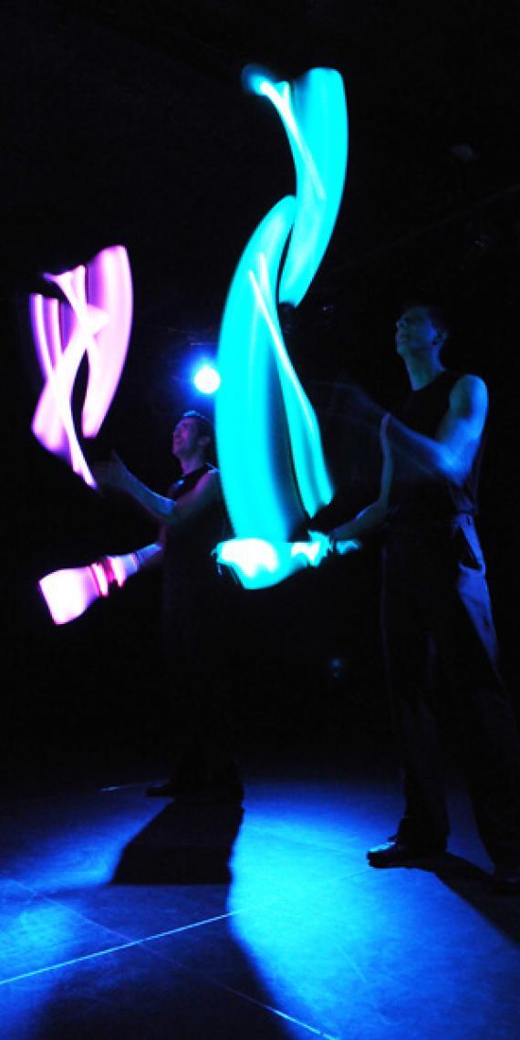Drauf & Dran: Lichtshow LED-Keulen