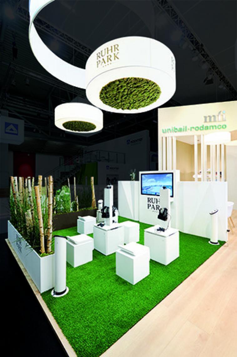 Designmessestand Ruhrpark