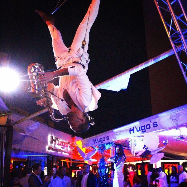 fliegende musiker