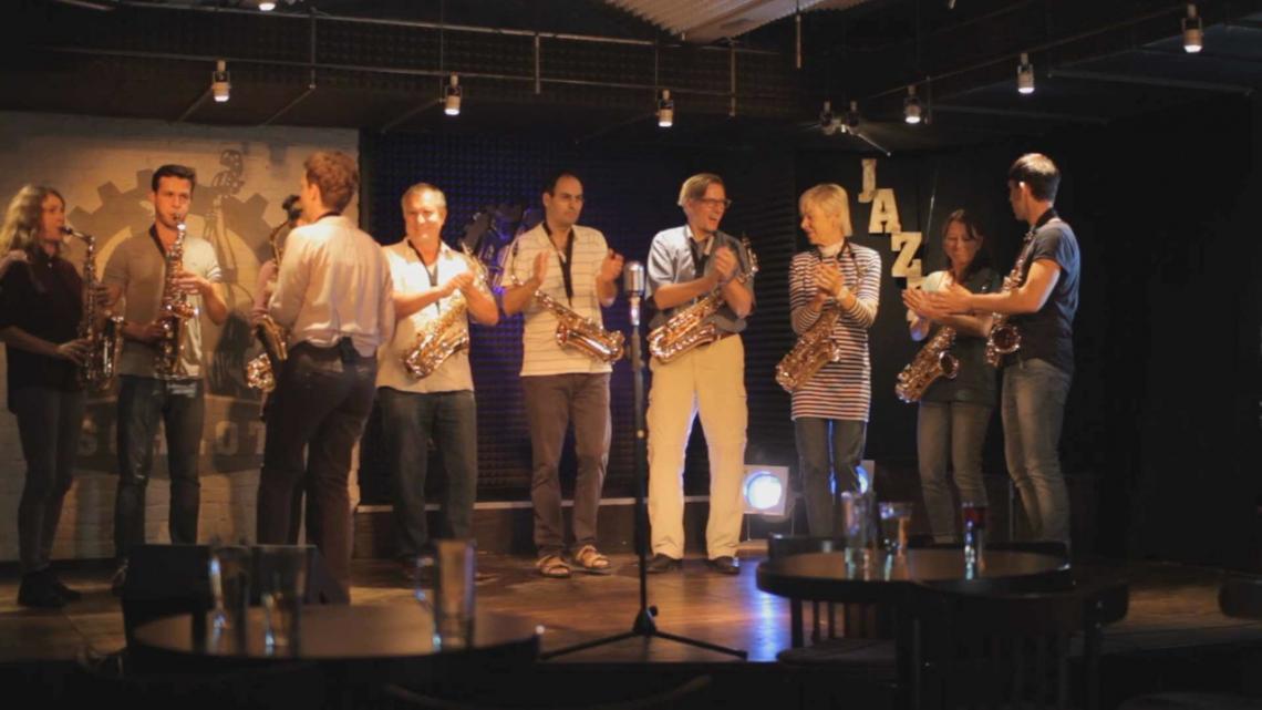 Ihr Teamevent am Saxophon