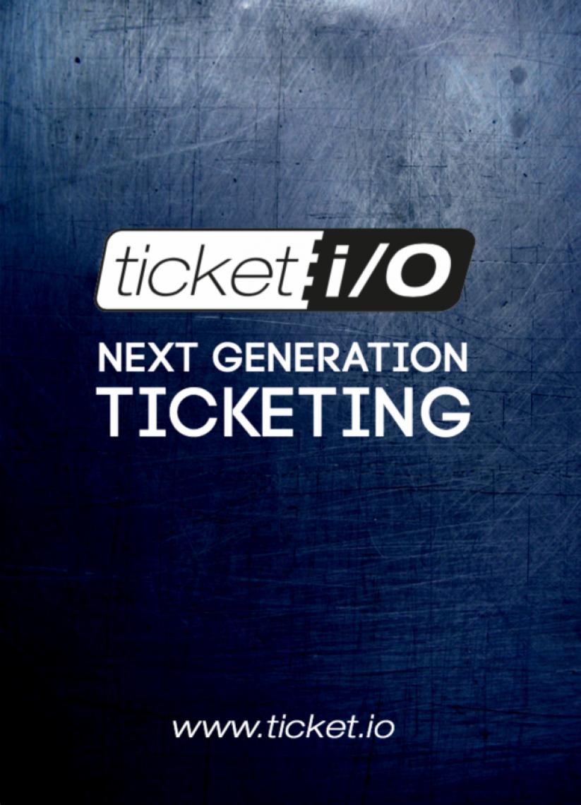 ticket i/O Flyer