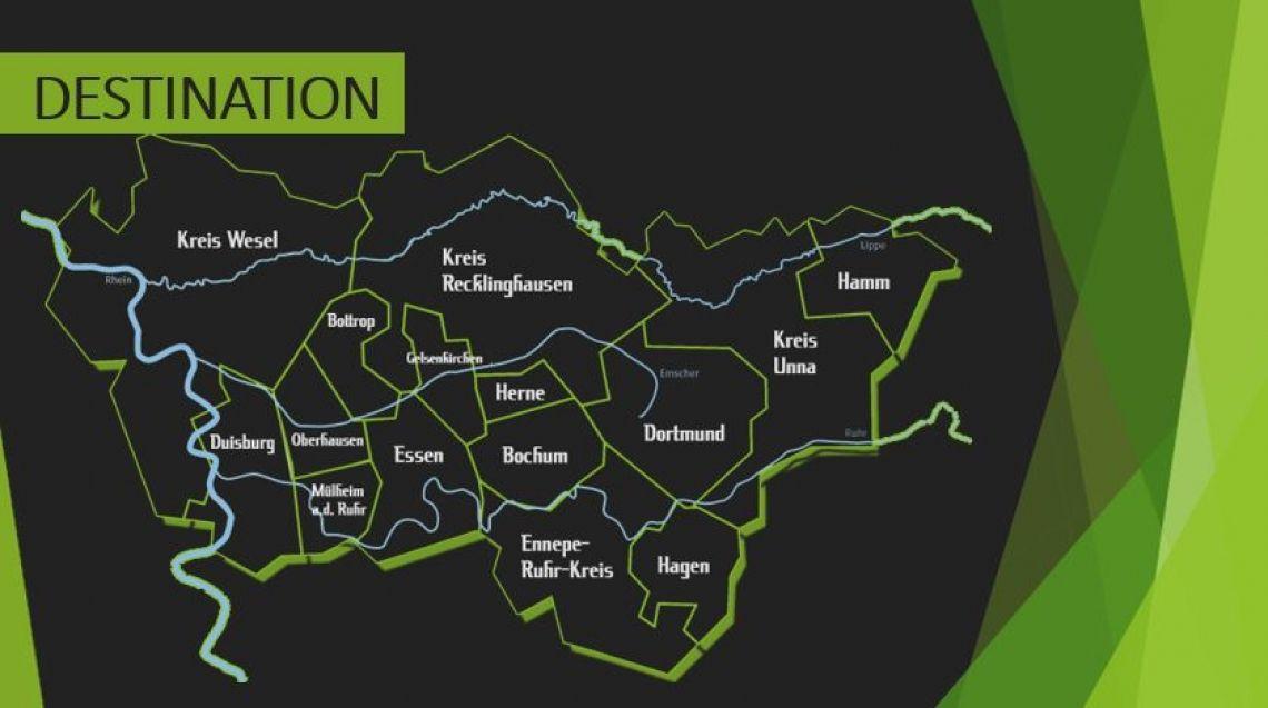 RUHRGEBIET: Destination Erleben Sie die weiten und vielseitigkeiten der Region