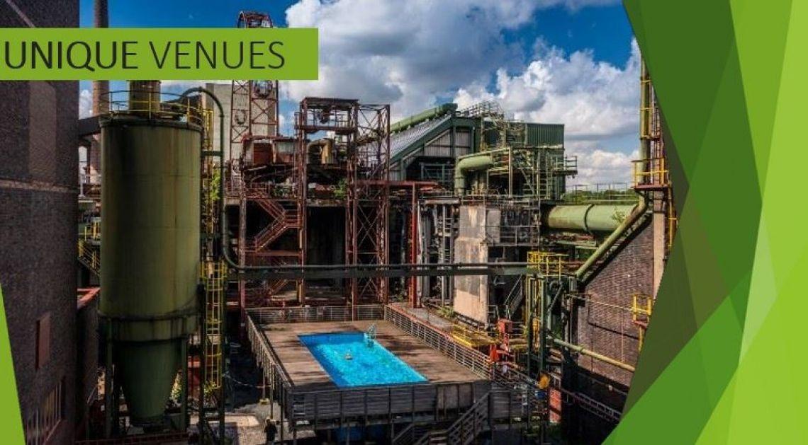 Unique Venues Poolparty in der Industriekulisse? - im Ruhrgebiet möglich!