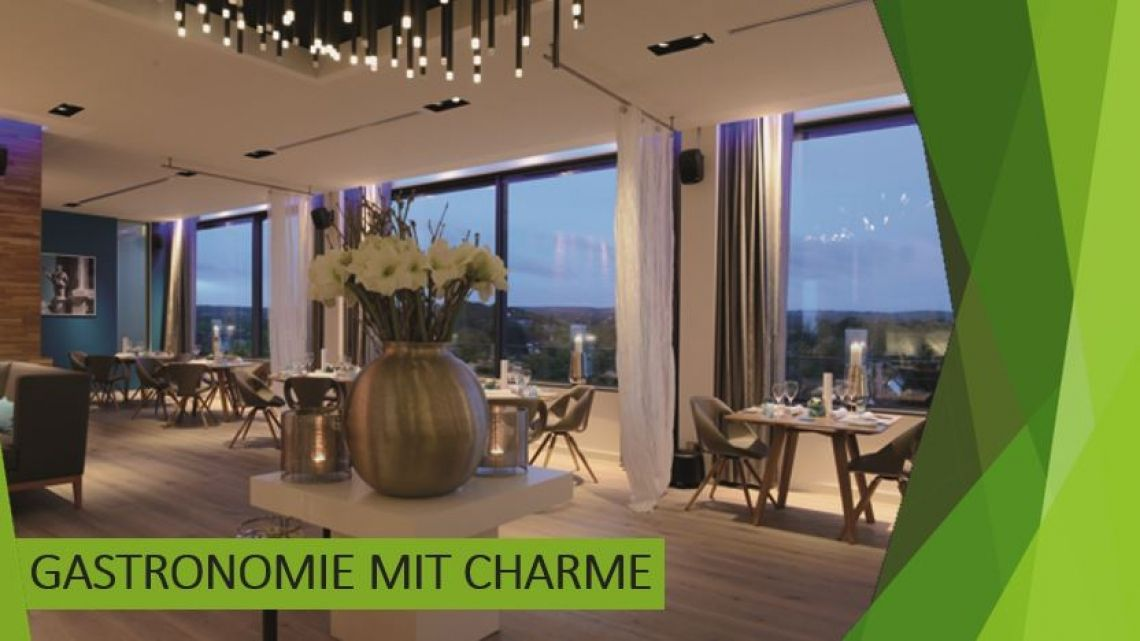 Gastronomie mit Charme Von der regionalen Currywurst mit Sterne-Restaurant - Dining im Bergbau oder mit Seeblick - das Ruhrgebiet bietet viel Abwechslung auf dem Teller und in der Umgebung