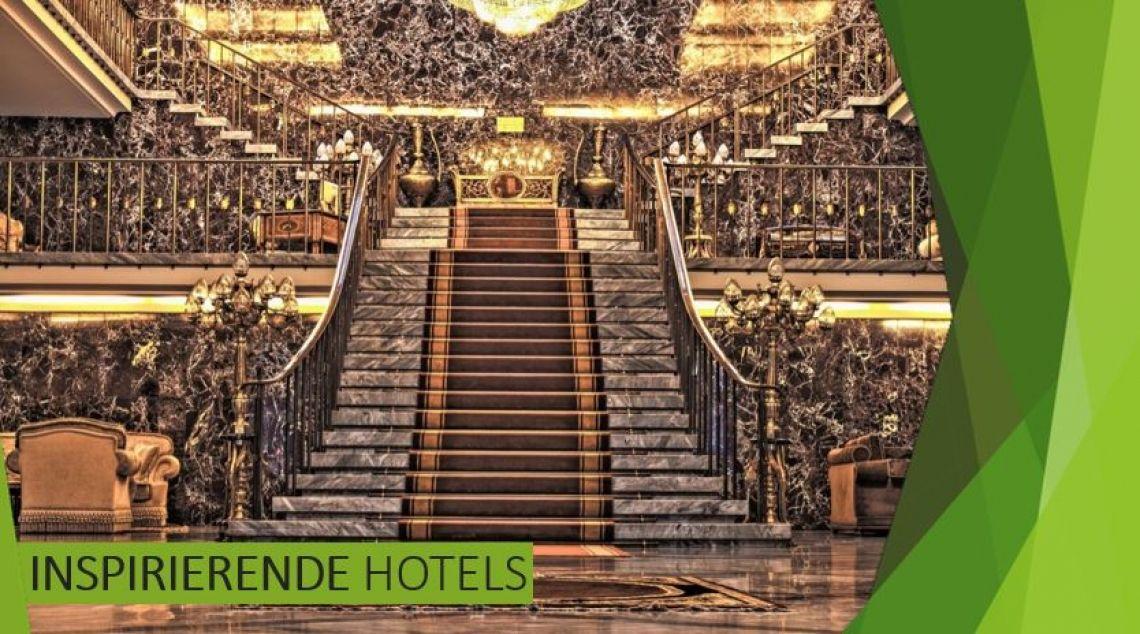 Inspirierende Hotels Das perfekte Zimmer für Ihre Übernachtung