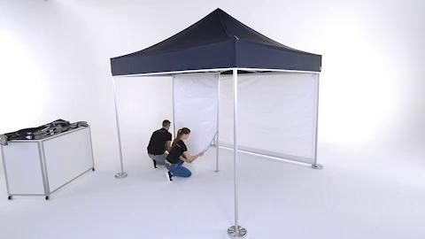 Pro-Tent MODUL 4000 Montage Innenkabine