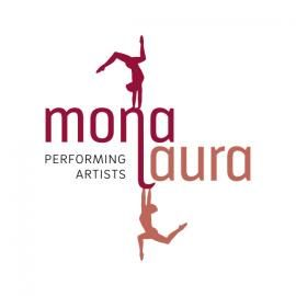 monalaura - performing artists Duo-Tuch und Cube-Performance