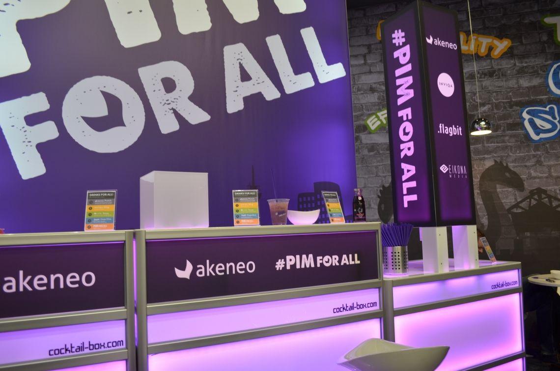 Live-Kommunikation Bar-Branding-Beispiel