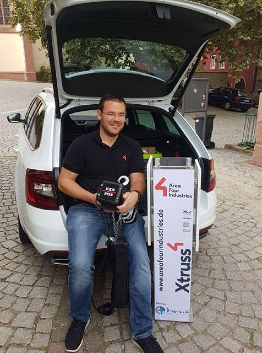 Außendienst Carsten Pfeiffer mit Büro in Mosbach (Metropolregion Rhein Neckar) ist Ansprechpartner für unsere Kunden in Süddeutschland