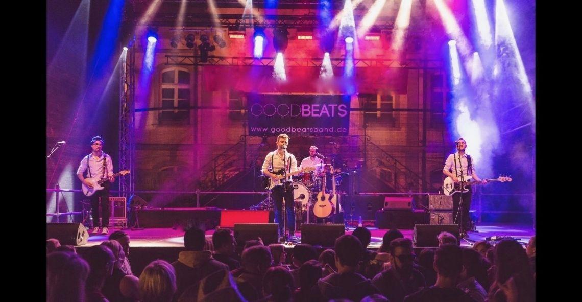 GOODBEATS live 2016 in livebild von unserem Auftritt beim Altstadtfest Lippstadt 2016