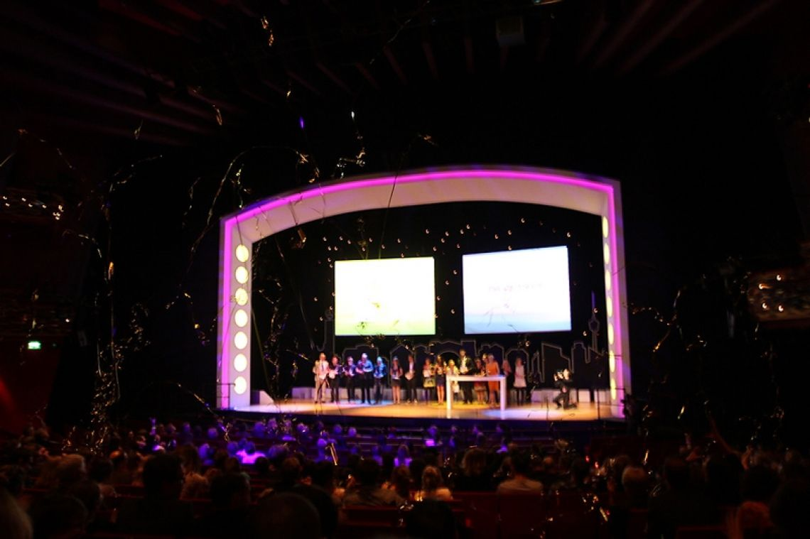 Stage Palladium Theater Tagung Bühne