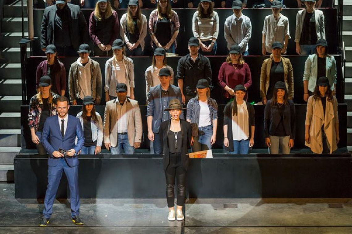 Stage Palladium Theater Bühne