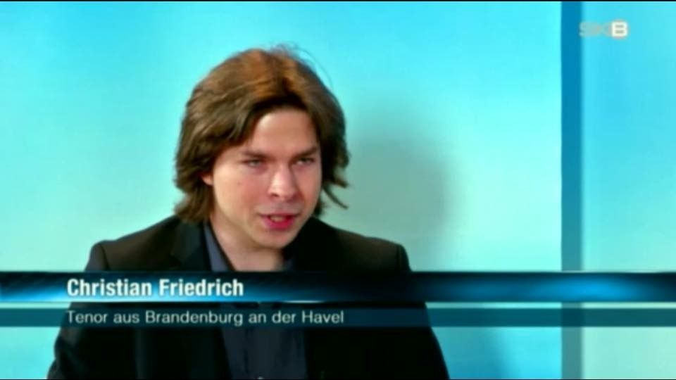 Tenor Christian Friedrich