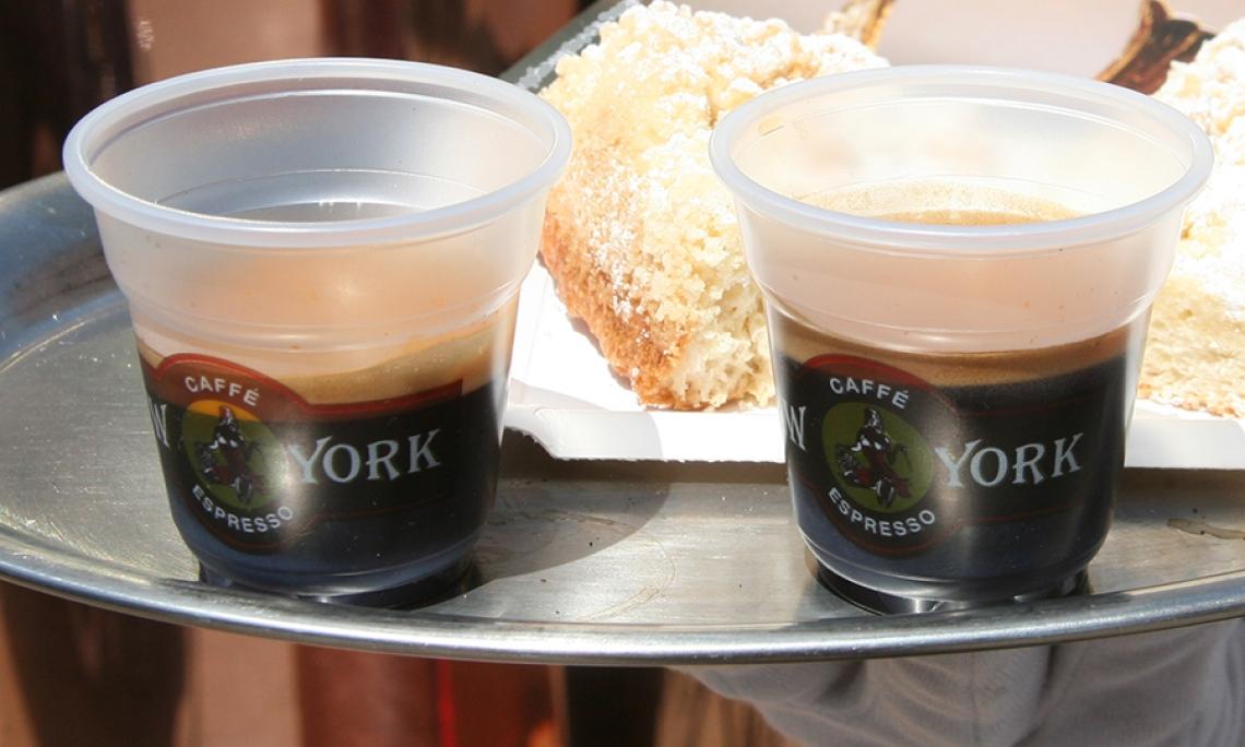 """Foto: EspressoPause Caffé New York """"to drive"""""""