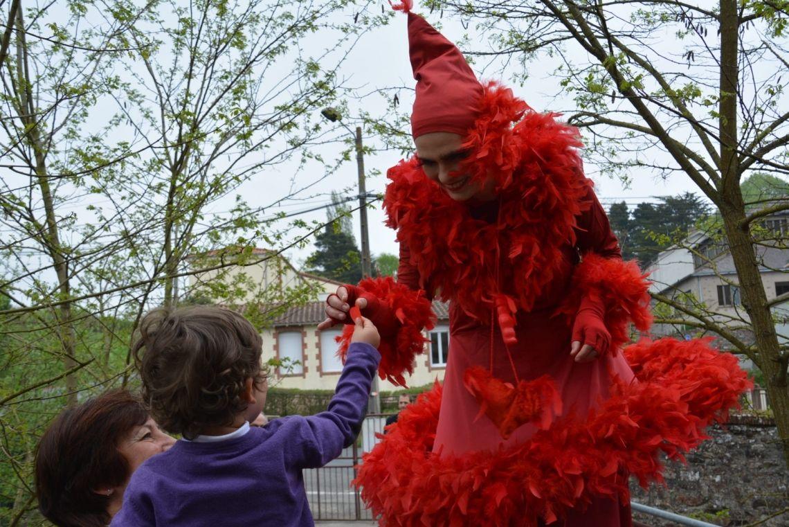 Mlle Prrrr - Clowntheater, Walking-Act,