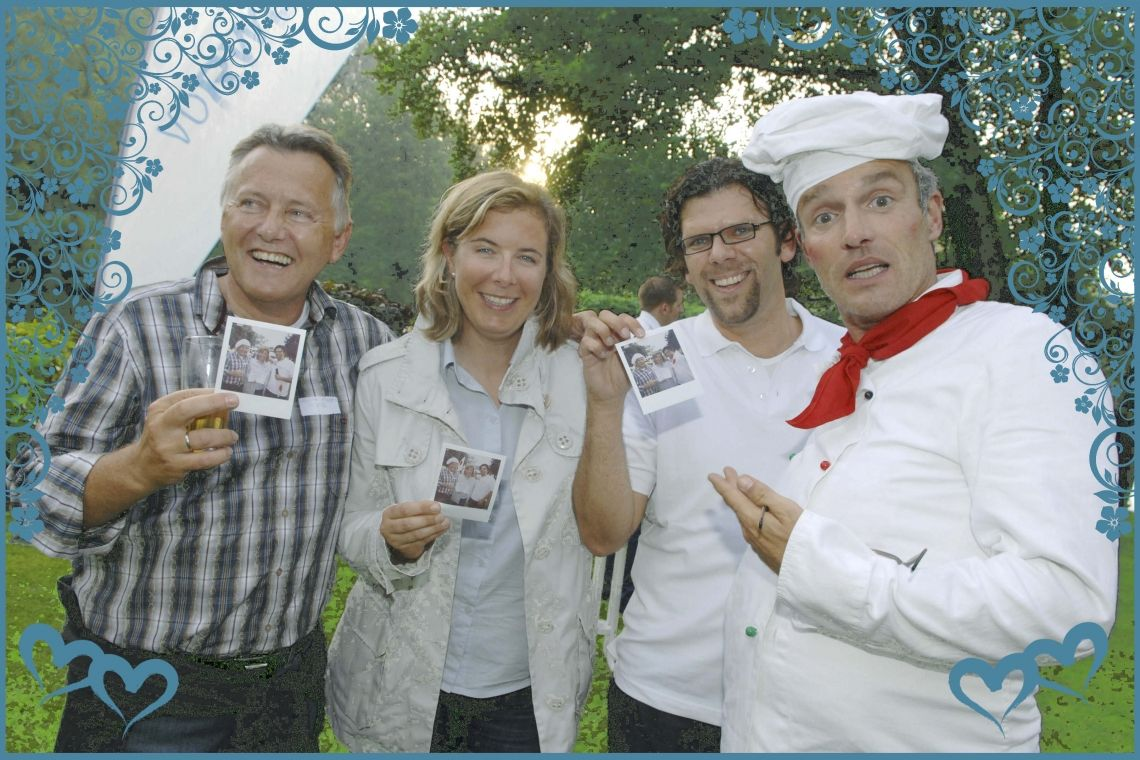 Comedy-Koch Goustave Guten Appetit und wohl bekomms!! ,-)