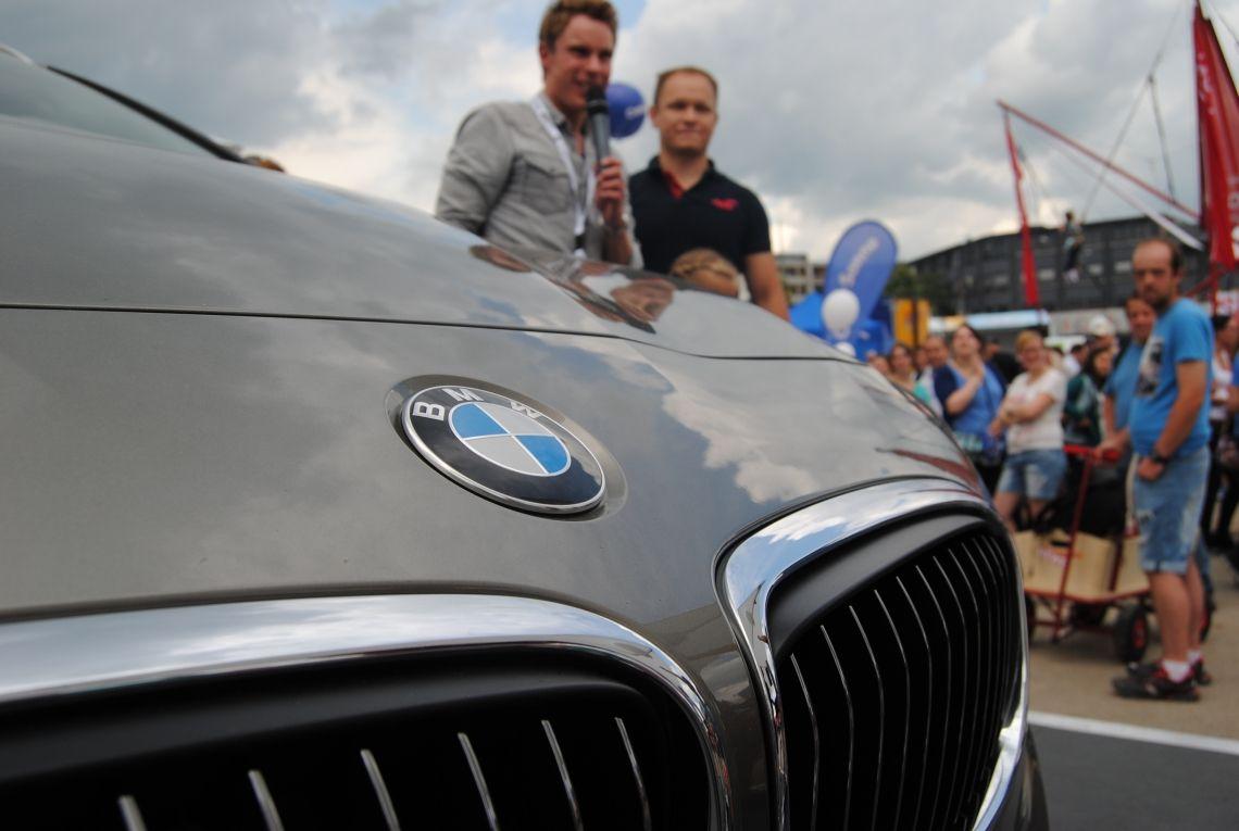 ©metzler & vater Moderation für BMW im Rahmen der REWE Family Days 2016.