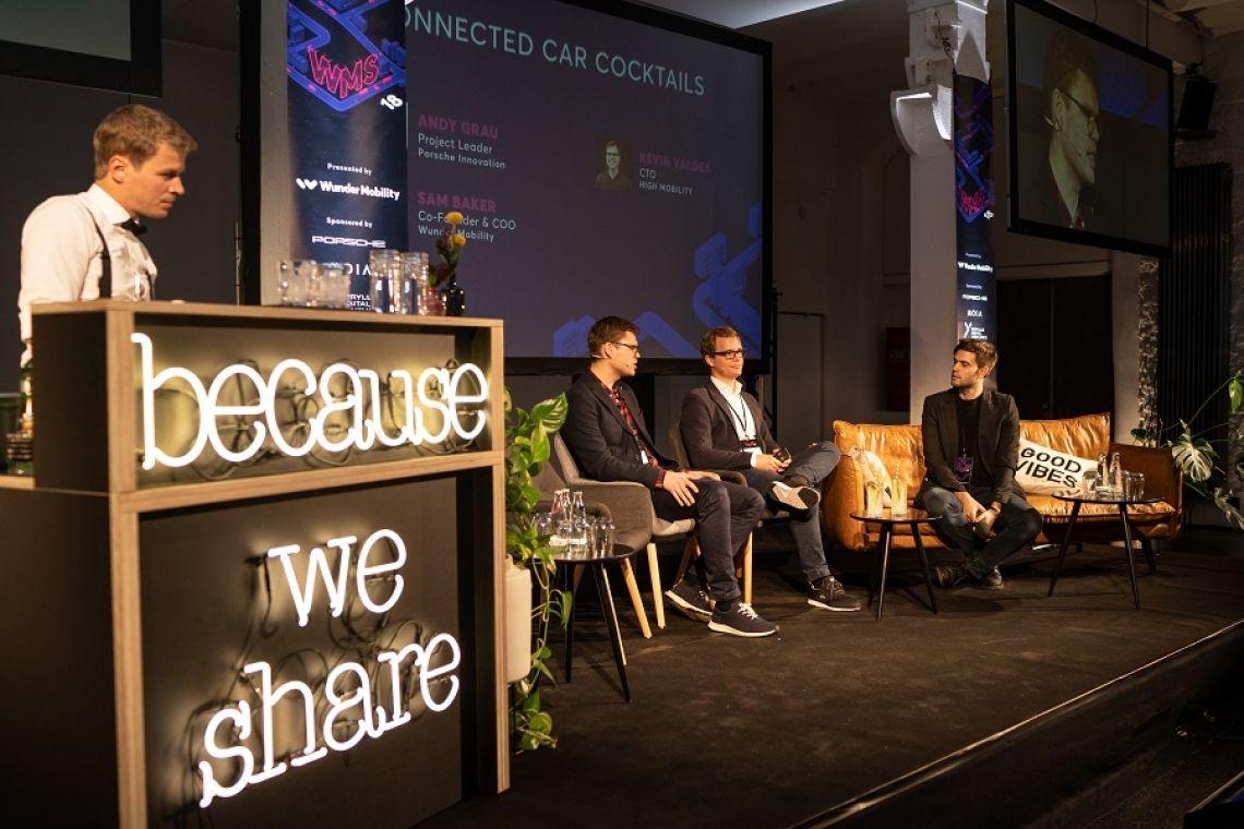 Bartending on Stage! Beim Wunder Mobility Summit 2018 trafen sich 200 Entscheider aus der Automobilindustrie, um die Zukunft der Fortbewegung einzuläuten.