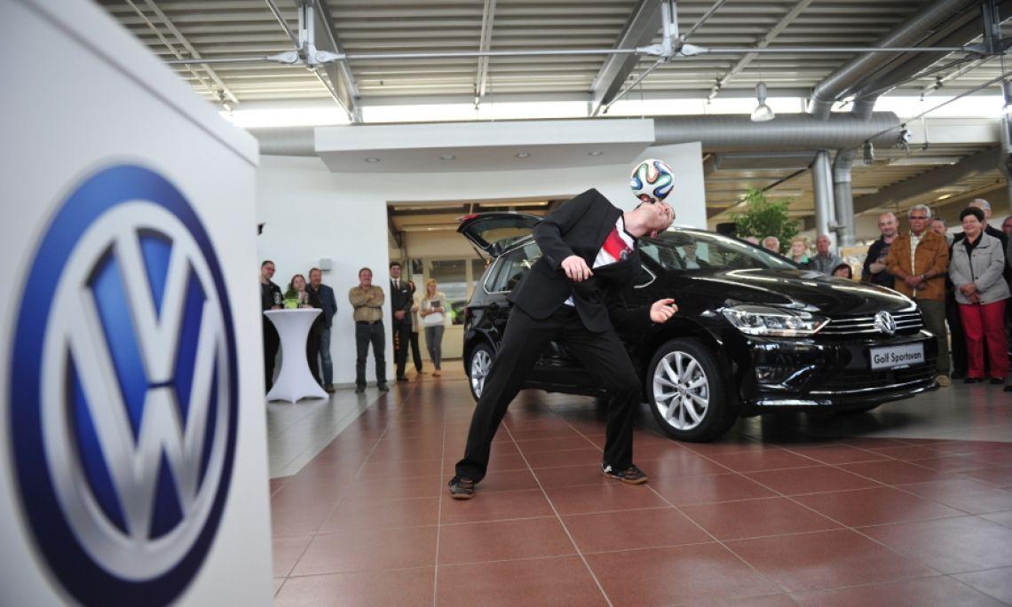 Promotion VW Neuwagen-Präsentation